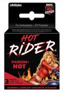 Hot Rider 3`s Condoms Latex